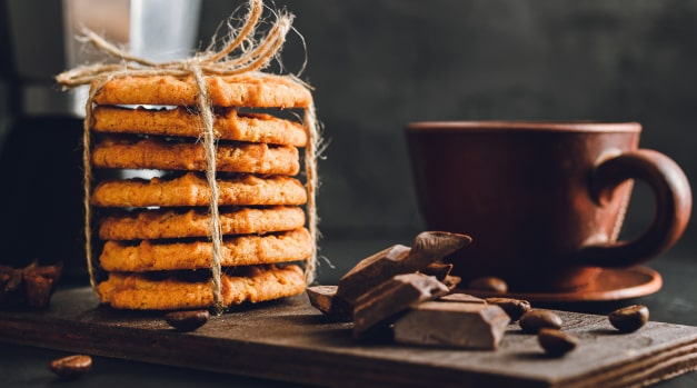 Coffee Wafer Cookies