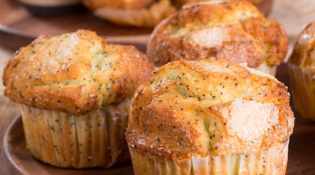 Grapefruit Poppy Seed Muffins